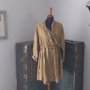Cynthia Ashby hand dyed linen dress